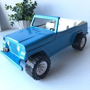 Vintage Tonka Jeep Blue Jeepster